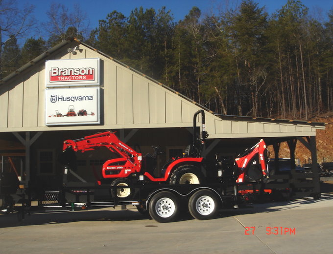 Branson Tractor Packages | Reed & Reed Sales